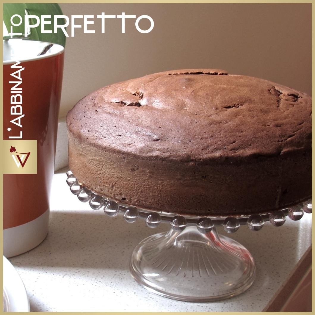 Torta soffice al Cioccolato e Recioto della Valpolicella